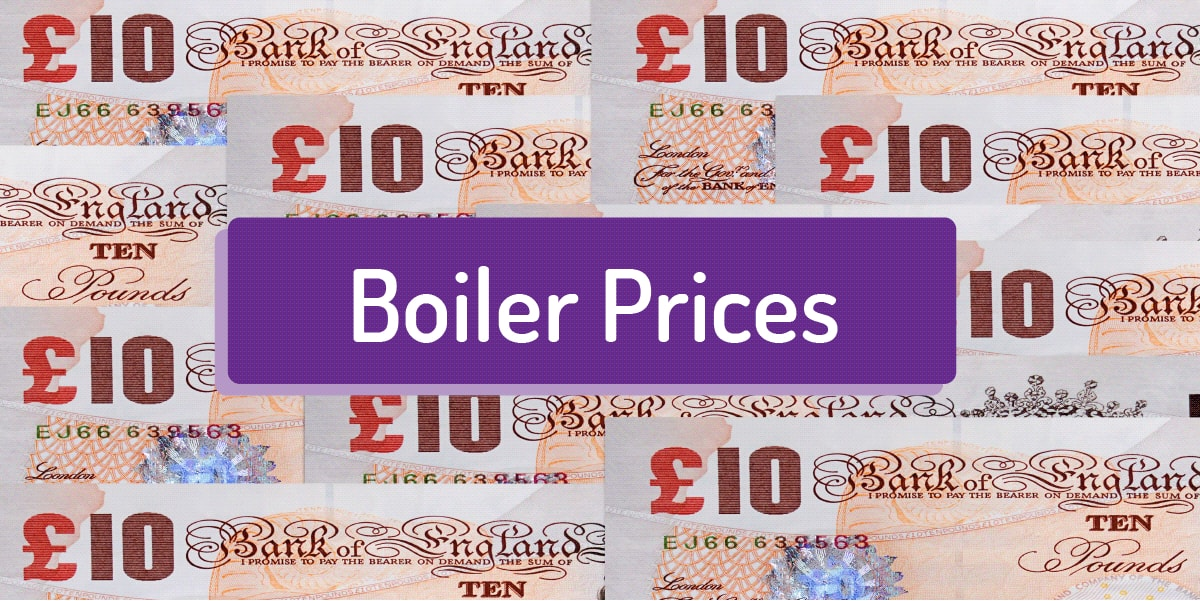 Combi Boiler Prices and Costs