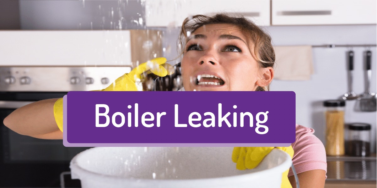 boiler leaking water
