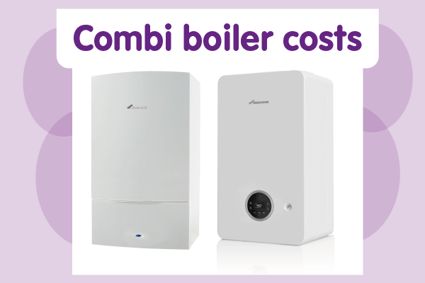 Combi boiler costs (Worcester)