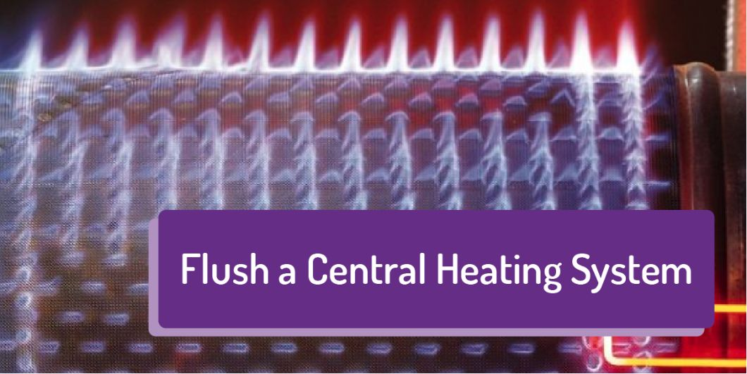 central heating (flush)