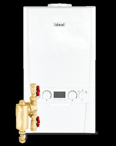 ideal logic boiler cost