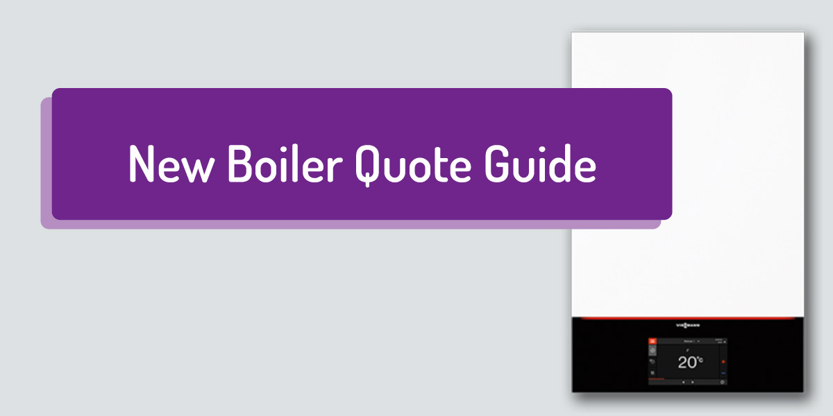 New boiler quote online