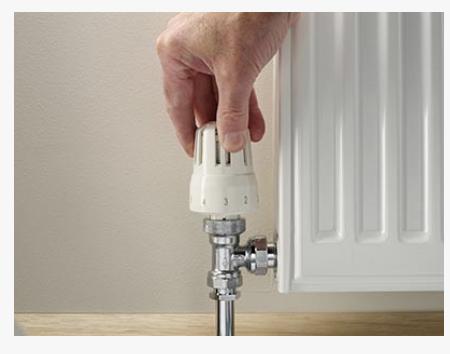Regular heat only radiator valve