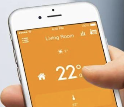 central heating smart thermostat
