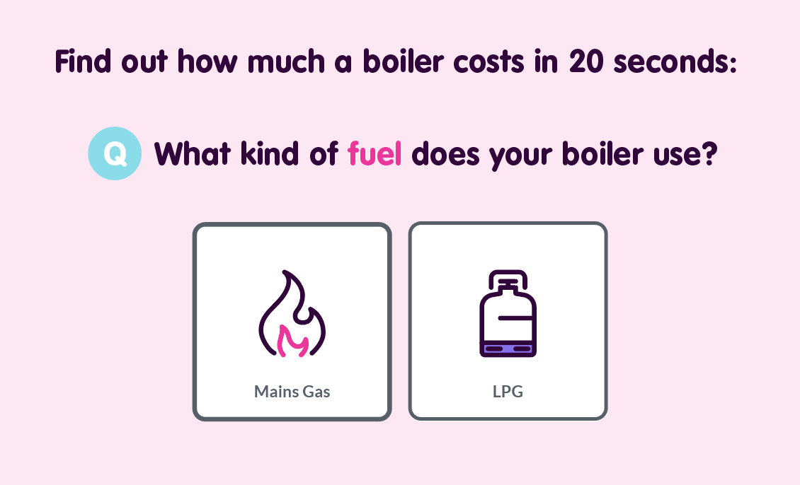 how much a new boiler costs