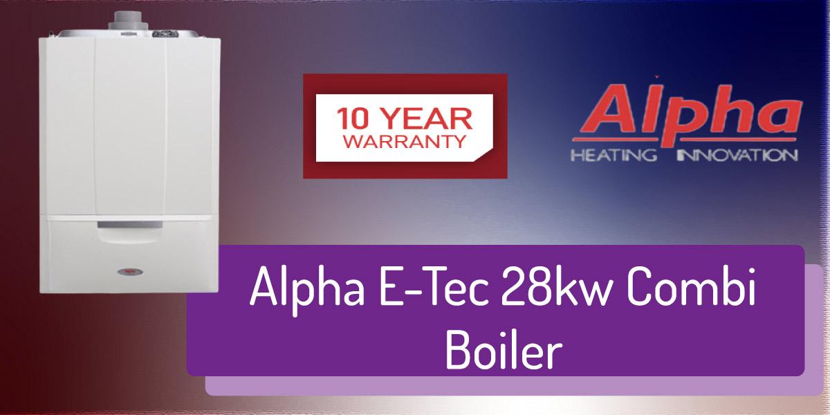 Alpha E-Tec 28kw Combi Boiler Review