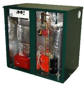 Outdoor Mega Combi Plus CODMC7 70kW Oil Boiler
