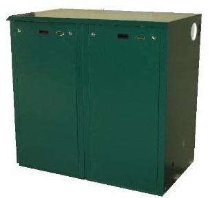 Outdoor Mega Combi Standard ODMC6 58kW Oil Boiler