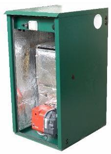Outdoor Utility Non-Condensing OD5 50kW Regular Oil Boiler