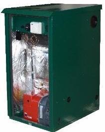 Outdoor Utility Standard Non-Condensing OD3 35kW Regular Oil Boiler
