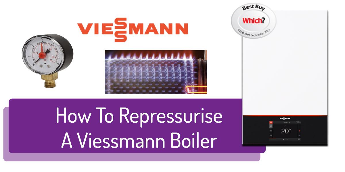 How To Repressurise Viessmann Boilers