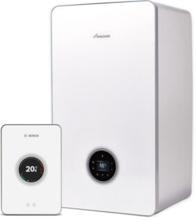 new worcester bosch boiler with smart controls